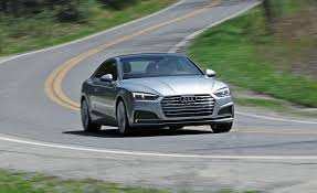 audi 2018 audi a5 2 0t coupe automatic test review car and driver