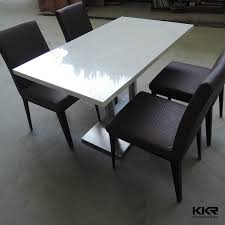 Corian Dining Tables Impressive Decoration Quartz Top Dining Table Homely Idea Kitchen