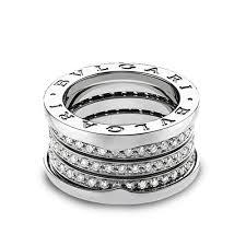 bvlgari diamonds rings images Bulgari b zero 1 18ct white gold four band pave set diamond ring jpg