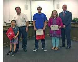 beaufort county schools character education winners september