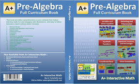pre algebra 7th or 8th grade math textbook 117 lessons 504