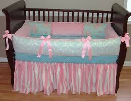 Pink And Blue Crib Bedding Furniture 15 Cheerful Nursery Room Remodel With Baby Bedding
