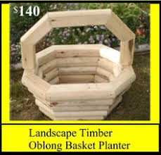 basket 2 hours 4 landscape timbers screws and glue gardens