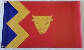 Golden Dawn Flag Birmingham England
