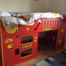 Fire Engine Bed Lovely Mid Sleeper Fire Engine Bed In Oxford Oxfordshire Gumtree
