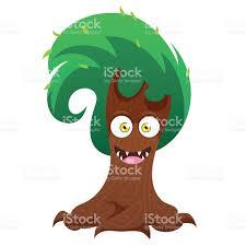 halloween animations clip arts funny tree monster for halloween stock vector art 603994918 istock