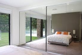 Custom Glass Closet Doors Mirror Design Ideas Frameless Custom Sliding Mirror Wardrobe