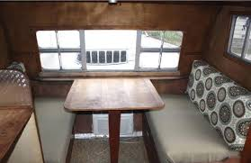 Interior Boat Cushion Fabric Refurbish Aging Rv Dinette Cushions New Upholstery But No Sewing