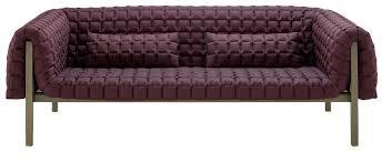Modern Low Back Sofas Ruché By Ligne Roset Modern Sofas Linea Inc Modern Furniture