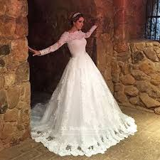 a line princess wedding dress vestidos de novia vintage lace sleeve wedding dresses 2016