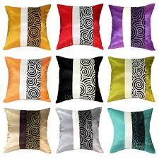 taie d oreiller pour canapé moderne jet de soie accent décoratif taie d oreiller housse de