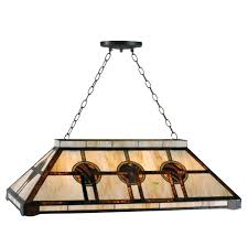pool table ceiling lights oxford tiffany pool table light by tiffany lighting direct