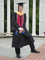 doctoral graduation gown academic dress