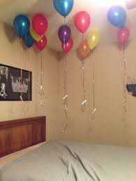 birthday balloons for him birthday balloon tie a note at the end of the