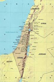 Isreal Map Israel Map Current Political Israel Map