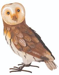 Garden Barn Decorative Owl Soar Mill Seeds