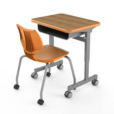 smith system desk single student desk silhouette desks smith system
