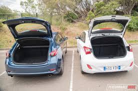 2017 mazda3 vs hyundai i30 small car comparison video