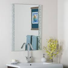 Frameless Molten Wall Mirror by Frameless Wall Mirror Frameless Wall Mirror Furniture Stunning