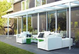 modern patio modern patio furniture that brings the indoors outside freshome