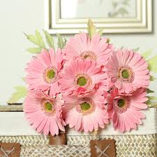 gerbera bouquet 2017 gerbera flower bouquets artificial sunflower for bridal