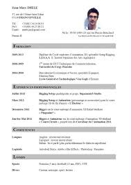 Best Resume Set Up by Free Resume Templates Cv Format Sample More Than 10000 Intended