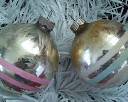 Christmas Ornament Storage Kmart by Vintage Kmart Christmas Tree Glass Ornaments S S Kresge Co