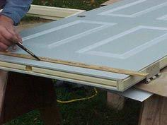 Exterior Doors Mobile Homes Cut A Standard Door To Fit Mobile Home Home Renovation