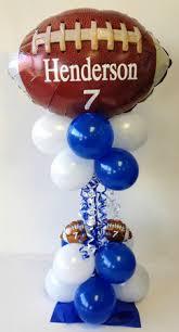 Football Centerpieces All Sports Balloon Centerpiece Tulsa Ok
