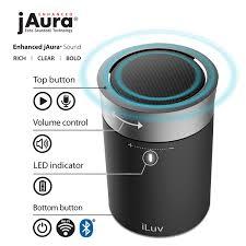 amazon com iluv aud click portable wifi u0026 bluetooth speaker with
