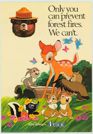 Only You Can Prevent Forest Fires Meme - the bear disney little golden book and read along record 1976
