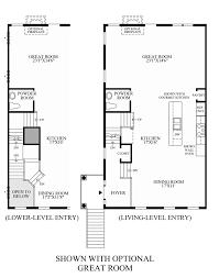 Great Room Floor Plan Avonlea Reserve The Bradbury Home Design