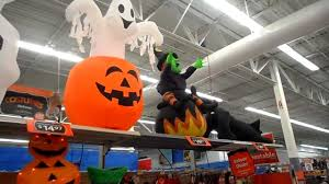 halloween display of latest items for sale at walmart kissimmee