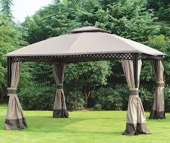 Patio Umbrellas Big Lots by Windsor Gazebo With Netting 10 U0027 X 12 U0027 Big Lots Backyard