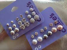 claires earrings and pearls magnetic earrings set of 9 s twa ti