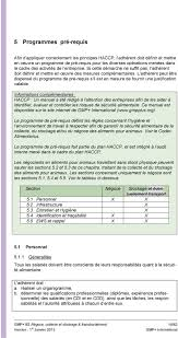 dispense haccp gmp b3 ant礬rieurement b3 2007 n礬goce collecte et stockage