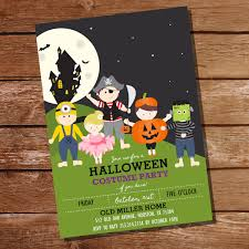 Old Halloween Poems 17 Halloween Party Invitations Newlywed Survival Cards