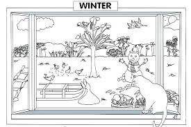 Winter Coloring Pages For Preschool Odvedite Me Winter Coloring Pages Free