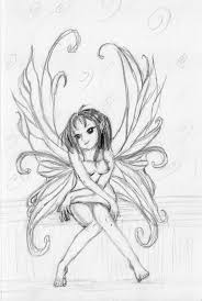 gallery beautiful pencil sketches of fairies drawing art gallery
