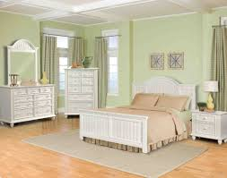bedroom ideas white wooden furniture in light green painted