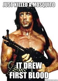 Rambo Meme - lame pun rambo memes quickmeme