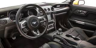 mustang inside 2016 ford mustang gt h interior and exterior best car preview