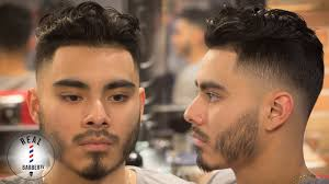 men u0027s haircut curly hair drop fade skin fade haircut youtube