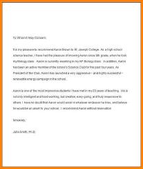 9 teacher recommendation letter for student farmer