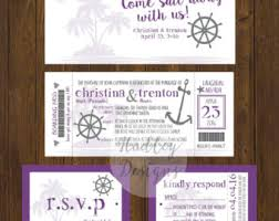 cruise wedding invitations cruise wedding invitations gangcraft net