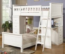 white loft bed with desk twin twin white loft bed set with desk