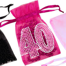 ladies party favors 4oth birthday favor bags birthday party favor
