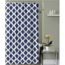 captivating royal blue shower curtain contemporary exterior