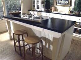 kitchen kitchen island with sink and 3 minimalist designed