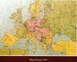 Europe Map In 1914 by History